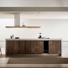 hotte de cuisine ilot elica hotte de cuisine ilot bio island en bois et métal blanc