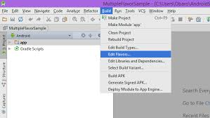 edit apk building flavors of an android app android authority