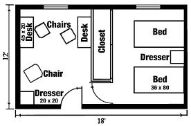 room floor plan residential traditional residence halls beloit college