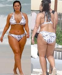 plussize model vs curvy