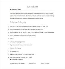 Java Programmer Resume Sample by Outstanding Free Resume Downloads