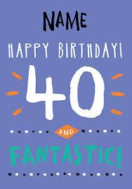 40th birthday card u2013 gangcraft net