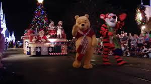 walt disney world mickey u0027s very merry christmas party youtube