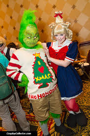 Dr Seuss Characters Halloween Costumes Amazing Grinch Cindy Lou Costumes Inspired Dr Seuss