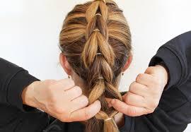 braid band how to create a pull through braid