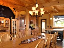 Timber Frame Home Interiors Custom Timber Frame Home Discovery Dream Homes Youtube