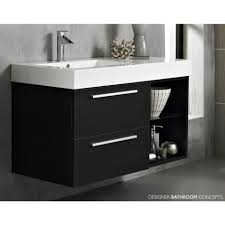 Concrete Bathroom Vanity by Bathroom Fair Picture Of Small Black And White Bathroom