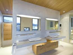 contemporary bathroom mirrors bathroom mirrors contemporary marvelous recessed built in bathroom