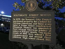southgate street built for african american children is