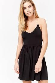 black skater dress black skater dress