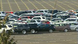 toyota car lot port shutdown impacting local car dealerships
