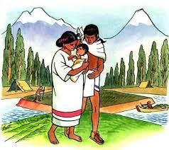 Imagenes De Familias Aztecas   la familia azteca los aztecas