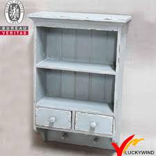 etagere shabby chic 2 drawers vintage antique wooden shabby chic small cabinet view