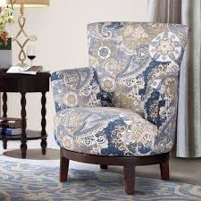 Paisley Accent Chair Swivel Accent Chair With Paisley Pattern Free Shipping Today