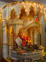 pooja decorations at home ganpati decoration at home in usa