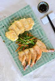 pan fried fish and shrimp jeon saengsun and saewoo jeon kimchimari