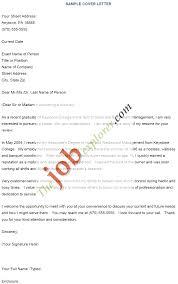 sample cover letter with resume sample cover letter for restaurant server bartender cover letter example