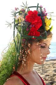 floral headdress how to create a floral headdress by gough flirty fleurs