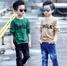 click to buy 2017 new handsome boys tops cotton