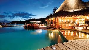 bora bora beach resort overwater bungalow http www