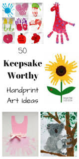 50 keepsake worthy kids handprint art ideas handprint art gift