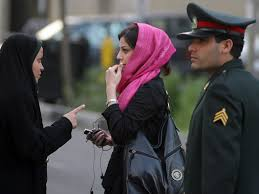 iranian women s hair styles iran arrests women for posting photos without headscarves on