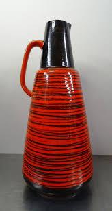 die besten 25 rote vasen ideen auf pinterest farbige glasvasen