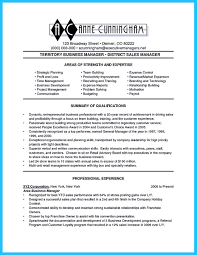 District Manager Resume Sample Make The Most Magnificent Business Manager Resume For Brighter Future