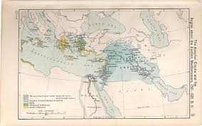 Ancient Middle East Map by