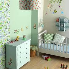 fresque chambre bébé chambre bebe fresque murale animaux jungle deco chambre bebe fresque