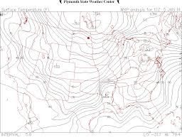 Surface Weather Map Homework Assignments