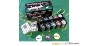 Big Blind Small Blind Buy Texas Hold U0027em Up Poker Playing Set Casino Games Online At