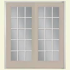 15 Lite Exterior Door Masonite 72 In X 80 In View Prehung Right Inswing 15