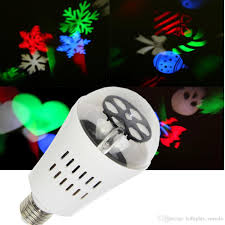 halloween light bulb 2016 christmas halloween decoration led patern projector light