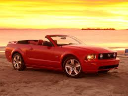 mustang convertible ford mustang gt convertible 2005 pictures information specs