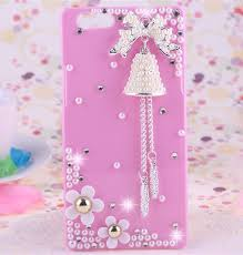 bling ribbon bling oppo a59 shiny rhinestone diamond flower ribbon