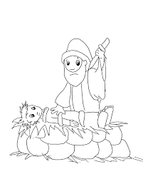 abraham and isaac coloring page a picture from one of the coloring books faithful abraham ready
