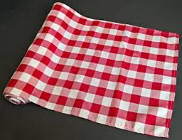 red and white table runner amazon com checkered gingham table runner 14 x 108 inches red and
