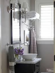 Gray Purple Bathroom - small bathrooms