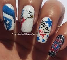 fourth of july nail art u2013 slybury com