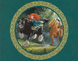 merida angus in brave wallpapers brave images merida in the legend of the esmeralds book wallpaper