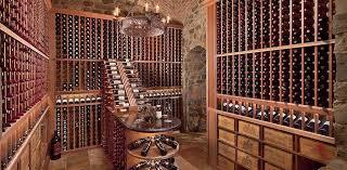 top three unique artful wine cellars for your bars homesfeed