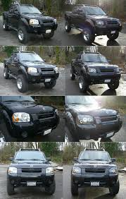 nissan pathfinder xenon lights dual halo projector led headlights write up nissan frontier forum