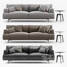 Poliform Sofa 3d Models Sofa Poliform Tribeca Sofa