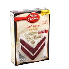 betty crocker super moist red velvet cake mix 480g