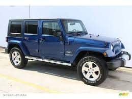 jeep sahara 2016 blue deep water blue pearl 2009 jeep wrangler unlimited sahara 4x4