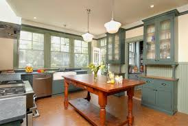 typcal english kitchen in whte gray color scheme with fabulous
