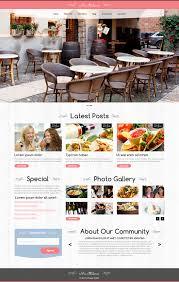 themes wordpress restaurant free home cafe it pinterest restaurant themes