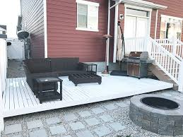 how did my white deck hold up this winter seeking alexi diy