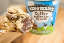 Franchise Coffee Toffee coffee toffee bar crunch ben jerry s